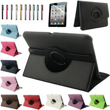 "360 Rotating Magnetic Leather Case Smart Cover For Amazon Kindle Fire HD 7"" 2012"