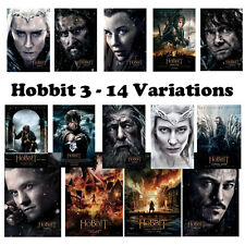 The Hobbit The Battle of the Five Armies Poster A1 A2 A3 Satin Gloss Photo Fast