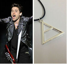 "The original single 30 seconds to Mars sign triangle ""pendant necklace"