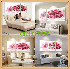 3pcs Modern Wall Painting TREE Rose Home Decorative Art Picture Canvas No frame