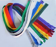 "44"" long YKK  Separating #5 Coil Zippers. $1 ea.  8 colors. Buy one or hundreds."