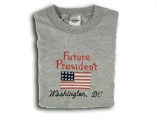Kids future Presidents t shirts with american flag