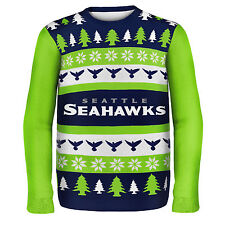 Seattle Seahawks Ugly Sweater - One Too Many - Store Displayed, Tagged, 10% OFF!