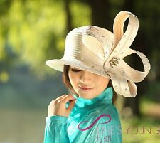 Cheap Women Wedding/Special Occasion/Party/Outdoor Church Hats & Caps