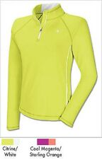 Champion Women's Double Dry Quarter zip high visibilityTshirt!!