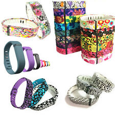Large & Small Replacement Wrist Band &Clasp for Fitbit Flex Bracelet Silicone