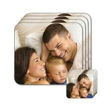 Personalised Hardwood Coasters Placemats Your Custom Photo or Text Printed!