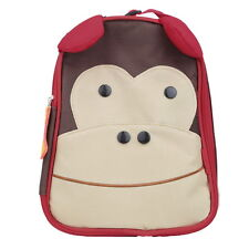 Lovely Toddler Children Kids Zoo Animal Lunch Bag Nursery Picnic Box New DX