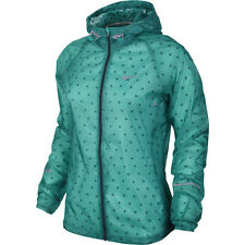 NEW Nike Womens Vapor Cyclone Running Jacket 4 Sizes $135 MSRP 588657 383 Green