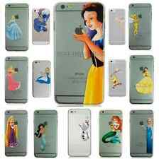 Snow White Ariel Olaf Belle Hard Case Cover for iPhone 4 4S 5 5S 5C 6 6 PLUS