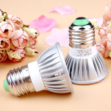 Spot Light 9W 3*3W MR16 GU10 GU5.3 E27 LED Warm Cool White Ceiling Lamp Bulb LM