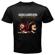 Creedence Clearwater Revival Chronicle Rock Legend Mens Black T-Shirt Size S-3XL