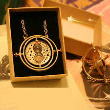 Luxury Plated Harry Potter-Hermione Time Turner Converter Pendant Necklace CM