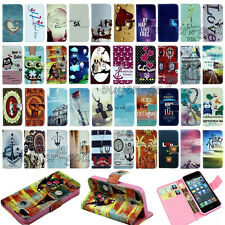 Fashion Vintage Stand Flip Wallet Leather Hybrid Case Cover For iPhone 6 4 5S 5C