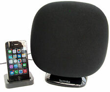 Technika 2.1 Bluetooth Speaker System with Dock Station for iPhone 3,4, 5, 6