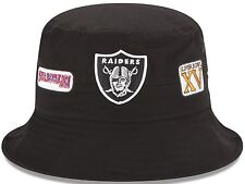 Oakland Raiders New Era NFL Super Bowl Champion Logo's Bucket Hat