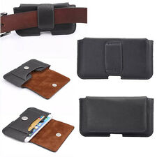 New Universal PU Leather Waist Pouch Case Cover For iPhone Samsung HTC Motorola