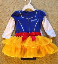 NWT Disney Baby Girl Snow White Costume Outfit Princess Dress ~ NB 6M 12M 18M