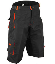 MTB Cycling Shorts, Cycle, Mountain Biking, Off Road, Lycra Padded, Thermal, Men