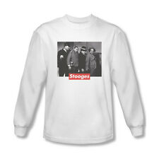 The Three Stooges Supreme Rip Adult Long Sleeve T-Shirt