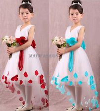 KIDS BABY GIRLS  PARTY DRESS WEDDING, OCCASION/PARTY TUTU ,CHRISTMAS AGE 3-13YRS