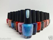 OPI Nail Polish Lacquer Variety Assorted Colors of  Your Choice .5oz/15ml