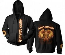 NEW Authentic AMON AMARTH Burning Eagle Hoodie Sizes M L XL 2XL Metal Band
