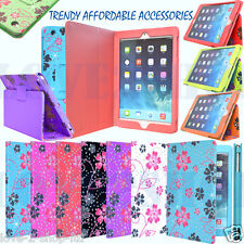 ★ TRENDY STYLISH LEATHER PRINTED GLITTER COVER CASE FOR APPLE VARIOUS TABLETS ★