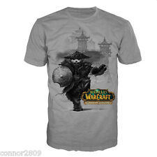 Official World of Warcraft  T-Shirt  Mists of Pandaria Small large x large