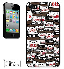 Made for iPhone 4, 5, 5C, 6 Case Nutella Sweet Cute Funny Joke Candy Meme Junk