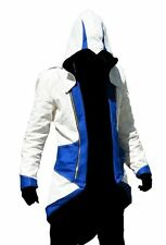 ASSASSIN CREED 3 GAMING COSTUME FAUX LEATHER JACKET COAT