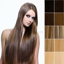 """18""""20""""22""""24"""" Clip In Full Head 100% Real Remy Human Hair Extensions, Straight"""