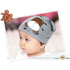 Fashion Baby Kids Girl Boy Chidren Cute Dog Beanie Cap Infant Cotton Soft Hat