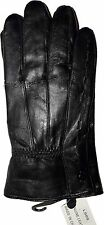 New Women's Leather Gloves, Black Warm winter gloves Leather Winter Gloves BNWT