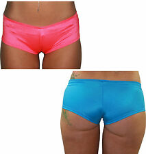 Juicee Peach Bold Colour Hot Pants / Pole Dancing / Dance Hipster Shorts