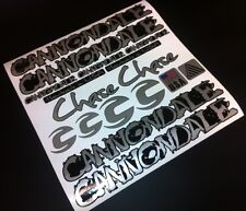 Cannondale Chase STYLE MTB BIKE FRAME STICKERS DECALS KIT