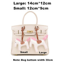 Handmade PU Leather Horse Pendant Mobile/Bag Key Chains Bag Accessories