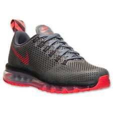 NEW IN BOX NIKE MEN'S AIR MAX MOTION RUNNING SHOES 631767 006 GREY RED $180 MSRP
