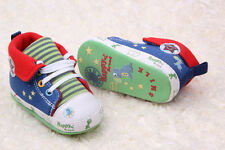 Toddle Infant  High-top baby boy girl crib Soft Sole baby shoe  size 0-18 months