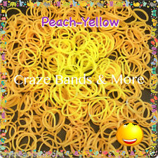 Amazing Temperature Change color Magic Moody Rainbow Rubber Band fit Loom PEACH