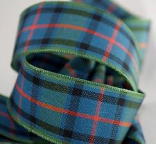 "Tartan Ribbon - Flower of Scotland - 25 mm (1"") wide"
