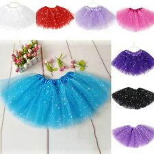 Baby Girl Kids Tutu Skirt Star Sequins Princess Party Ballet Dance Dress Costume