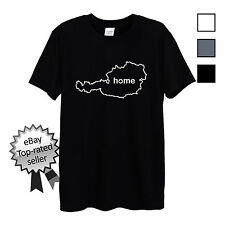 AUSTRIA HOME T-Shirt FIND YOUR OWN Country Men OR Women's Fitted Football shirt