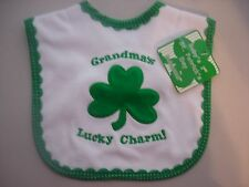 St. Patrick's Day Infant And Toddler Bibs Pick 1 Bib Your Choice New