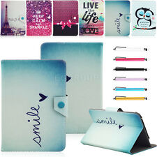 "Fashion Universal For 7"" 9.7-10.1"" Android Tablet PC MID PU Leather Case Cover"