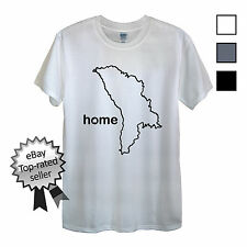 MOLDOVA HOME T-Shirt FIND YOUR OWN Country Men OR Women's Flag Resort Gifts Map
