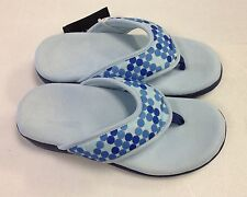 Vionic Orthaheel Bliss Thong Slippers w/ Arch Support NEW