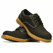 Mens Casual Smart Walking Hiking Lace Up Trail Work Fashion Trainers Shoes Size