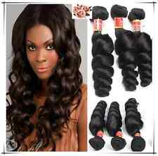 7A Virgin Brazilian Human Hair Loose wave Hair Extension Weave Wefts 3 Bundles
