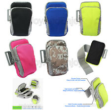 Outdoor Sport GYM Cycling Runing Earphone Wrist Pouch Arm Bag Case For BLU Phone